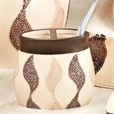 Shimmer Toothbrush Holder Tan
