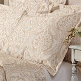 Santorini Damask Tailored Sham Standard
