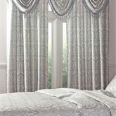 Santorini Damask Tailored Curtain Panel 56 x 84