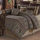 Tucson Oversized Comforter Bed Set Multi Earth
