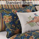 Hartford Quilted Sham Midnight Standard