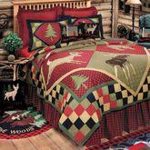 Lodge Quilt Multi Warm