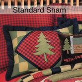 Lodge Quilted Sham Multi Warm Standard
