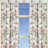 Garden Folly Tailored Curtain Panel Ivory 50 x 84