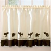 Forest Tailored Tier Pair Light Cream 58 x 36