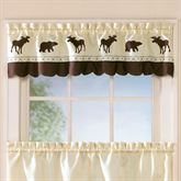 Forest Tailored Valance Light Cream 58 x 14