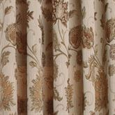 Melbourne Floral Scalloped Valance Champagne 52 x 17