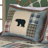 Smoky Mountain Quilted Sham Multi Warm Standard