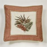 Key West Embroidered Sham Multi Warm European