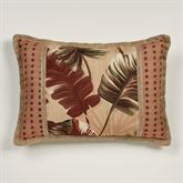 Key West Flanged Pillow Multi Warm Rectangle