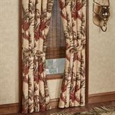 Key West Tailored Curtain Pair Multi Warm