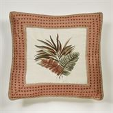 Key West European Pillow with Sham Multi Warm