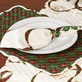 Holiday Nouveau Napkins Light Cream Set of Four