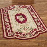 Portia Rose Rectangle Rug Ruby