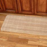 Heavenly Stripe Comfort Runner Mat Mahogany 22 x 60