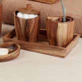 Acacia Wood Vanity Tray Light Brown
