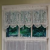 Fairmount Lace Tailored Valance 56 x 13