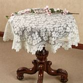 Dogwood Lace Table Topper 42 Round