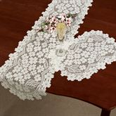Dogwood Lace Table Runner