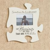 Blessings Quote Photo Frame Cream