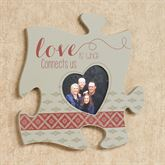Love Is Quote Photo Frame Gray