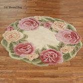 Rose Nouveau Round Rug