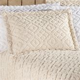 Diamond Chenille Tailored Sham Standard