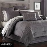 Bohemia Comforter Set Dark Gray