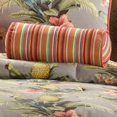 Polly Island Piped Pillow Eucalyptus Neckroll