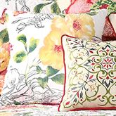Amabelle Quilted Pillow Multi Bright 14 Square