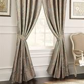 Norwich Wide Tailored Curtain Pair Aqua Mist 100 x 84