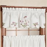 Lily Bloom Scalloped Valance 68 x 14