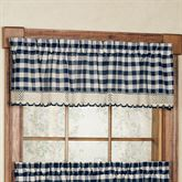 Buffalo Check Tailored Valance 58 x 14