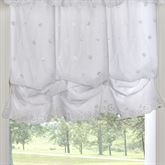 Cottage Rose Balloon Shade White 54 x 63