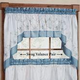 Grace Swag Valance Pair 58 x 30