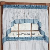 Grace Swag Valance Pair 58 x 30