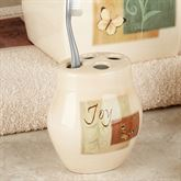 Tranquility Toothbrush Holder Beige