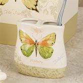 Butterfly Bliss Toothbrush Holder Sage