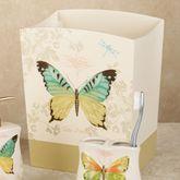 Butterfly Bliss Wastebasket Sage