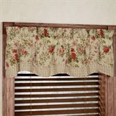 Charlotte Scalloped Valance 56 x 15