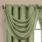 Sutton Semi Sheer Waterfall Valance 18 x 38