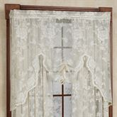 Abbey Rose Lace Swag Valance 55 x 38