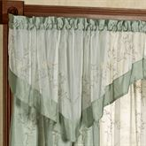Hawthorne Embroidered Ascot Valance 52 x 25