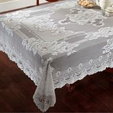 Sharon Oblong Lace Tablecloth