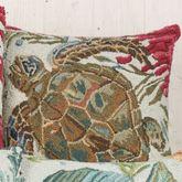 Sealife Turtle Pillow Multi Earth 18 Square