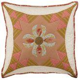 Durham Quilted Pillow Light Cream 16 Square
