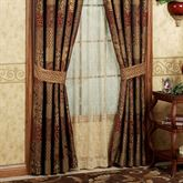 Galleria Tailored Curtain Pair Spice 82 x 84