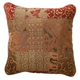 Galleria Piped Pillow Spice 18 Square