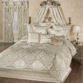 Luminous Comforter Set Champagne Gold