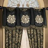 Imperial Swag Valance Black 56 x 20